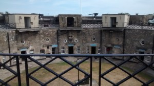 The Harwich Redoubt fort