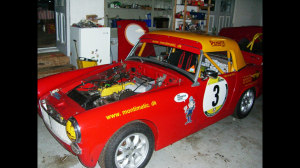 The MG garage (picture found on web via google)