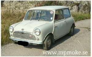 Austin Mini de luxe 1959