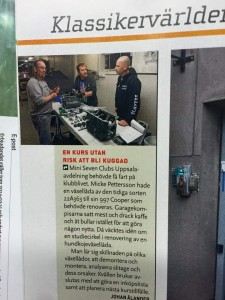 Small report from our course in Klassiker. Buy it!