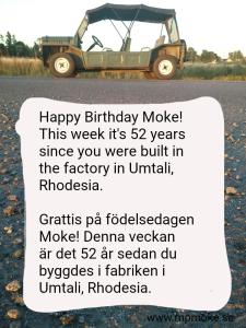Moke 52 years