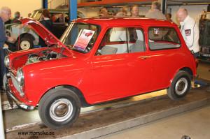 Chassinummer 182, Morris 850 Basic 1959