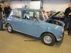 Chassinummer 269, Morris 850 DeLuxe 1959
