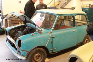 Chassinummer 414, Morris 850 Basic 1959